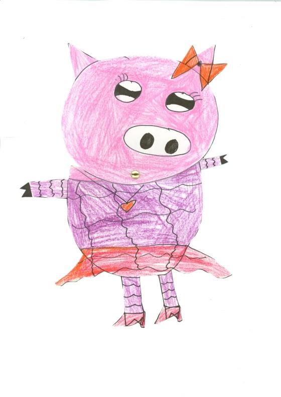 Dressing up Pig - Peony Fong